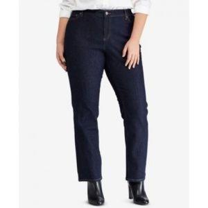 Lauren Ralph Lauren Premier Straight Indigo Jeans